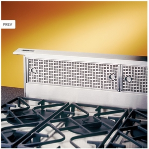 "RMDD3604EX Broan 36"" Downdraft Hood with Dishwasher Safe Filters and Compact Design - Stainless Steel"