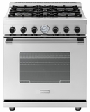 "RN301GCSSL Superiore 30"" NEXT Gas Range with Classic Door and Extra Large Gas Oven - Liquid Propane - Stainless Steel"