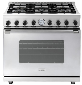 "RN361GCSS Superiore 36"" NEXT Gas Range with Classic Door and Extra Large Gas Oven - Natural Gas - Stainless Steel"