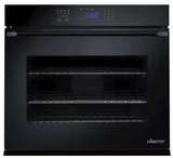 "RNWO127PB Dacor 27"" Heritage Renaissance Collection Electric Single Wall Oven with GreenClean Steam Cleaning Technology and SoftShut Hinges - Pro Style Handles - Black"