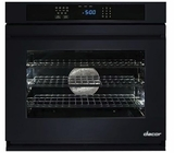 "RNWO130PB Dacor 30"" Heritage Renaissance Collection Electric Single Wall Oven with GreenClean Steam Cleaning Technology and SoftShut Hinges - Pro Style Handles - Black"