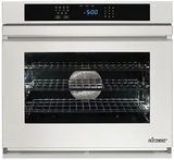 "RNWO130PW Dacor 30"" Heritage Renaissance Collection Electric Single Wall Oven with GreenClean Steam Cleaning Technology and SoftShut Hinges - Pro Style Handles - White"