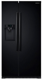 RS22HDHPNBC Samsung 22 cu. ft. Counter Depth Side-By-Side Refrigerator - Black