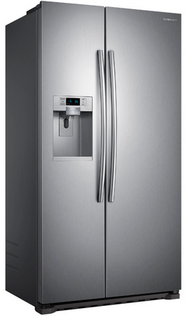 Samsung Side By Side samsung 36 22 cu ft counter depth side by side refrigerator