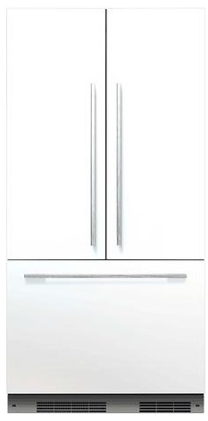 "RS36A72J1N Fisher & Paykel 36"" ActiveSmart French Door Built-in Refrigerator - 72"" Tall - Custom Panel"