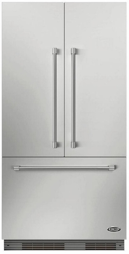 "RS36A72JC1 DCS 36"" ActiveSmart French Door Built-in Refrigerator - 72"" Tall - Custom Panel"