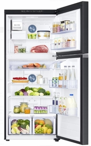 "RT18M6213SG Samsung 29"" Top-Freezer Refrigerator with FlexZone and Twin Cooling Plus - Stainless Steel"
