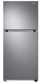 "RT18M6215SR Samsung 29"" Top-Freezer Refrigerator with FlexZone and Twin Cooling Plus - Stainless Steel"