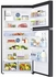 """RT21M6213SG Samsung 33"""" Top-Freezer Refrigerator with FlexZone and Twin Cooling Plus - Black Stainless Steel"""