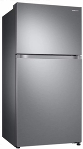 "RT21M6213SR Samsung 33"" Top-Freezer Refrigerator with FlexZone and Twin Cooling Plus - Stainless Steel"