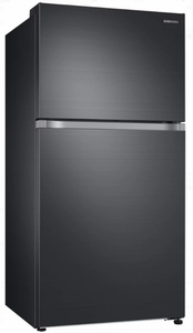 "RT21M6215SG Samsung 33"" Top-Freezer Refrigerator with FlexZone and Twin Cooling Plus - Black Stainless Steel"