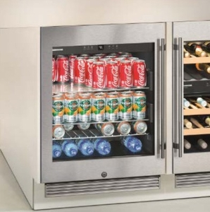 "RU510 Liebherr 24"" Grand Cru Built-in ADA Compliant Beverage Center With Security Lock - Stainless Steel"