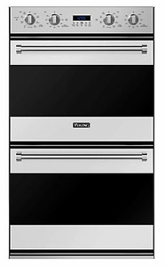 """RVDOE330SS Viking 30"""" Double Electric Convection Oven With Concealed Bake Element - Stainless Steel"""