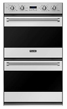 "RVDOE330SS Viking 30"" Double Electric Convection Oven With Concealed Bake Element - Stainless Steel"