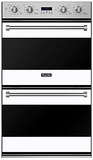 "RVDOE330WH Viking 30"" Double Electric Convection Oven with Concealed Bake Element - White"