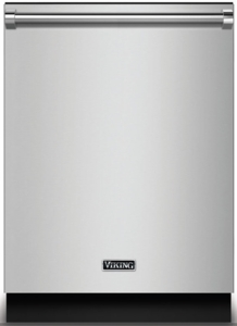 "RVDW102WSSS Viking 24"" Fully Integrated Dishwasher with Water Softener and 12 Place Settings 5 Cycles Adjustable Upper Rack - Stainless Steel"