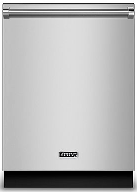 "RVDW103SS Viking 24"" Built-In Dishwasher With Stainless Steel Panel and an LCD Control Panel - Stainless Steel"