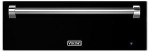 """RVEWD330BK Viking 30"""" Warming Drawer with Removable Racks and Moisture Cup - Black"""