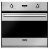 "RVSOE330SS Viking 30"" Single Convection Oven with Concealed Bake Element - Stainless Steel"