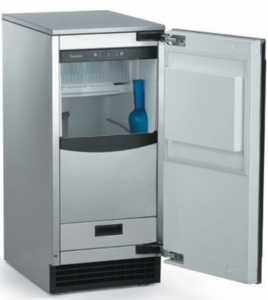 SCCP50MB1SS Scotsman Brilliance Automatic Outdoor Ice Machine with Drain Pump - Stainless Steel
