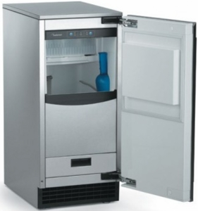 SCCP50MB1SU Scotsman Brilliance Automatic Ice Machine with Drain Pump - Stainless Steel Cabinet/Panel Required