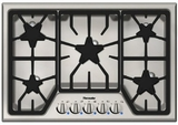 "SGS305FS Thermador 30"" Masterpiece Gas Cooktop with 5 Star Burners - Stainless Steel"