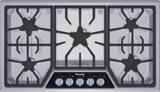 "SGSL365KS Thermador 36"" Masterpiece Series Gas Cooktop with Exclusive Sealed Star Burners - Stainless Steel"