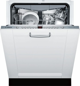 "SGV68U53UC Bosch 800 Series 24"" Dishwasher - Custom Panel"