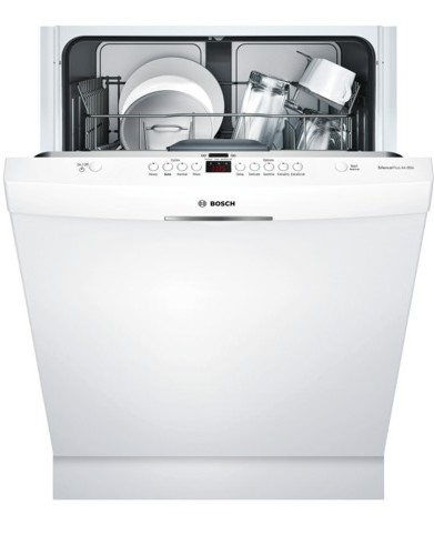 shs63vl2uc bosch 300 series 24 scoop handle dishwasher. Black Bedroom Furniture Sets. Home Design Ideas