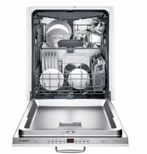 """SHVM78W53N Bosch 800 Series 24"""" Panel Ready Dishwasher with Top Controls and AquaStop - Custom Panel"""
