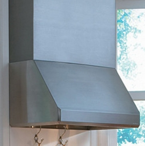 "SLH18-136SS Vent-A-Hood Emerald Series Wall Mount Hood with A Single Blower (300 CFM) 18"" x 36"" x 24"" - Stainless Steel"