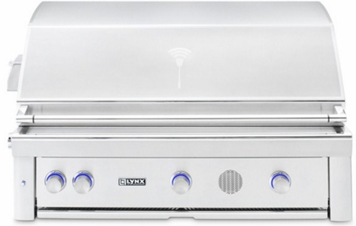 Smart42ng Lynx 42 Built In Smart Natural Gas Grill With