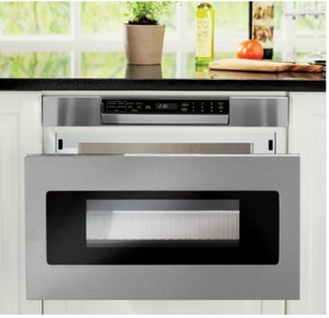 "SMD2470AS Sharp 24"" Microwave Drawer Oven with Hidden Control Panel - Stainless Steel"