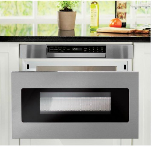 Smd2470as Sharp 24 Microwave Drawer Oven With Hidden Control Panel Stainless Steel