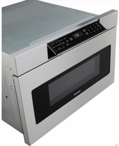 "SMD3070AS Sharp 30"" Microwave Drawer Oven with Hidden Control Panel - Stainless Steel"