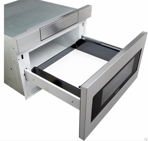 "Sharp Microwave Oven Drawer SMD3070AS Sharp 30"" Microwave Drawer Oven with Hidden ..."