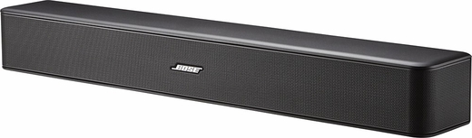 SOLO5 BOSE Solo 5 TV Sound System with Bluetooth Technology and One-Touch Volume Controls - Black