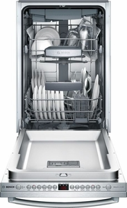 "SPX68U55UC - Bosch 800 Series 18"" Bar Handle Dishwasher - Stainless Steel"