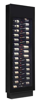 SR001 DANBY Silhouette Wine Displayer with Zeronext Technology  - Black
