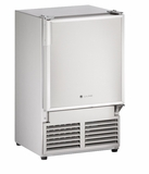 "SS1095NF-03A U-Line Marine Series 14"" Marine Crescent Ice Maker - No Flange - Field Reversible - 115V - Stainless Steel"