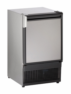 """SS98NF-03A U-Line Marine Series 15"""" Marine Crescent Ice Maker - Field Reversible - 115V - Stainless Steel"""