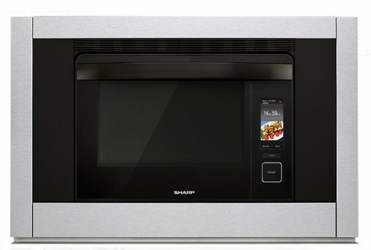 "SSC3088AS Sharp 30"" Steam Oven with SuperSteam and Convection Bake - Stainless Steel"