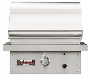 """STPFR1LP TEC Infrared 26"""" Sterling Patio FR Series Liquid Propane Built-In Grill with Rapid Preheat and Self-Cleaning Cooking Surface - Stainless Steel"""