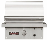 "STPFR1LP TEC Infrared 26"" Sterling Patio FR Series Liquid Propane Built-In Grill with Rapid Preheat and Self-Cleaning Cooking Surface - Stainless Steel"