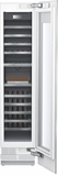 "T18IW900SP Thermador 18"" Freedom Collection Built-In Fully Flush Wine Preservation Column with SoftClose Drawers and TFT Control Panel - Custom Panel"