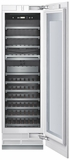 "T24IW800SP Thermador Freedom 24"" Built-In Wine Preservation Column - Custom Panel"