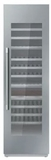"T24IW900SP Thermador 24"" Freedom Collection Built-In Fully Flush Wine Preservation Column with SoftClose Drawers and TFT Control Panel - Custom Panel"