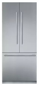"T36BT910NS Thermador 30"" Freedom Collection Masterpiece Series Handle Counter Depth French Door Refrigerator with ThermaFresh System and SoftClose - Stainless Steel"