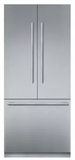 "T36BT910NS Thermador 36"" Freedom Collection Masterpiece Series Handle Counter Depth French Door Refrigerator with ThermaFresh System and SoftClose - Stainless Steel"