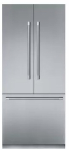 "T36BT920NS Thermador 30"" Freedom Collection Professional Series Handle Counter Depth French Door Refrigerator with ThermaFresh System and SoftClose - Stainless Steel"